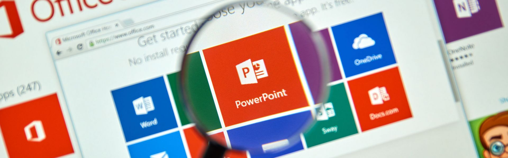 Online training Microsoft PowerPoint basis