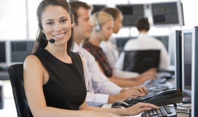 Online cursus how to answer the phone